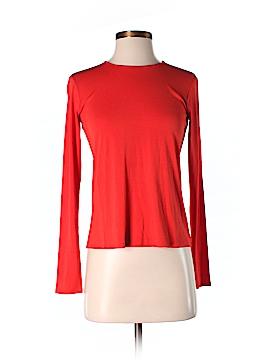 Eileen Fisher Long Sleeve Silk Top Size XXS