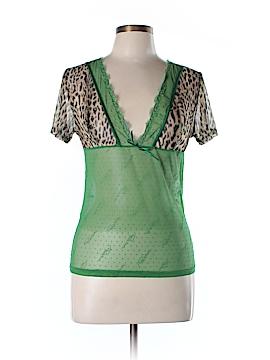 Roberto Cavalli Short Sleeve Blouse Size 48 (IT)