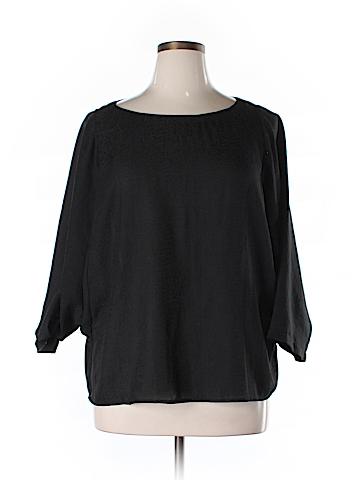 Ann Taylor LOFT Long Sleeve Blouse Size XL