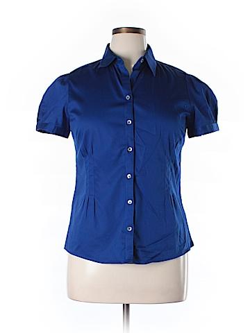 Banana Republic Factory Store Short Sleeve Button-Down Shirt Size L