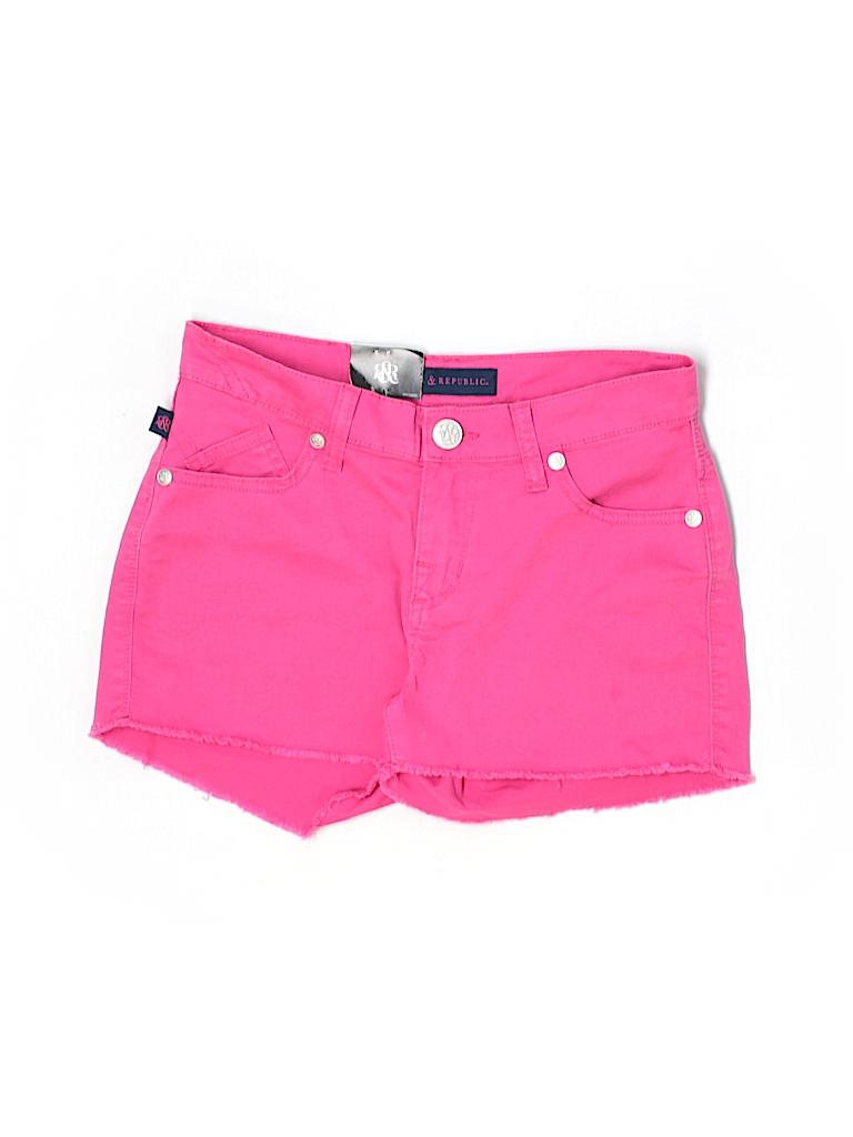 Rock & Republic Women Denim Shorts Size 2