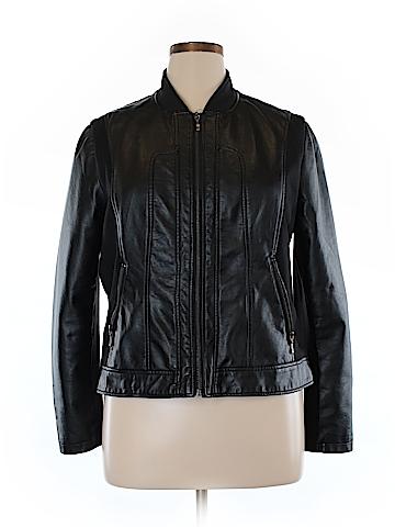 Bernardo Faux Leather Jacket Size XL