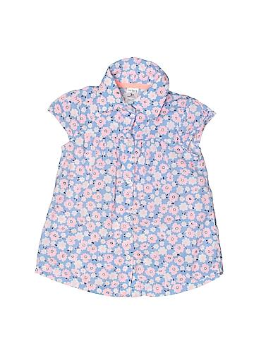 Carter's Sleeveless Button-Down Shirt Size 3T