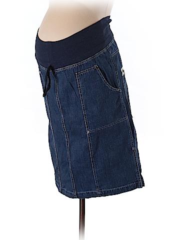 Attesa Maternity Denim Skirt Size XS (Maternity)