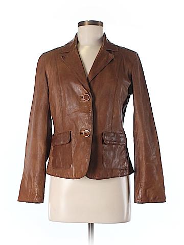 J.jill Leather Jacket Size XS