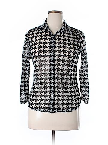 Ultra Flirt 3/4 Sleeve Blouse Size XL