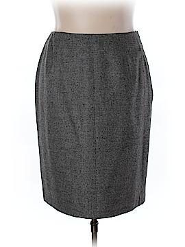 Brooks Brothers Wool Skirt Size 18W (Plus)
