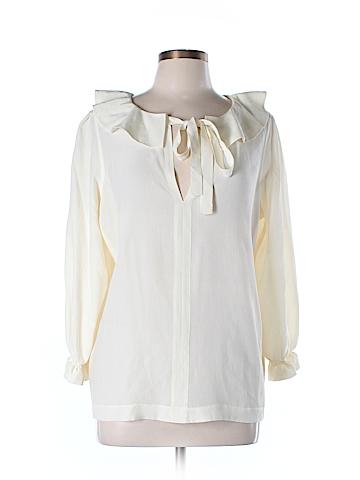 Sonia by Sonia Rykiel 3/4 Sleeve Silk Top Size L