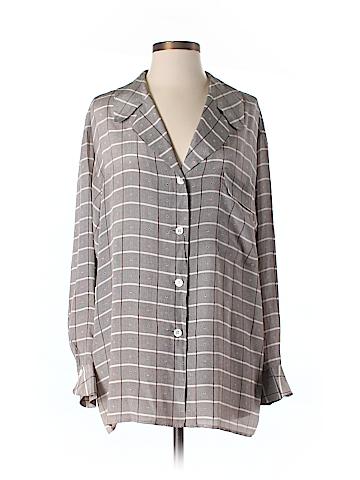 Giorgio Armani Long Sleeve Button-Down Shirt Size 44 (IT)