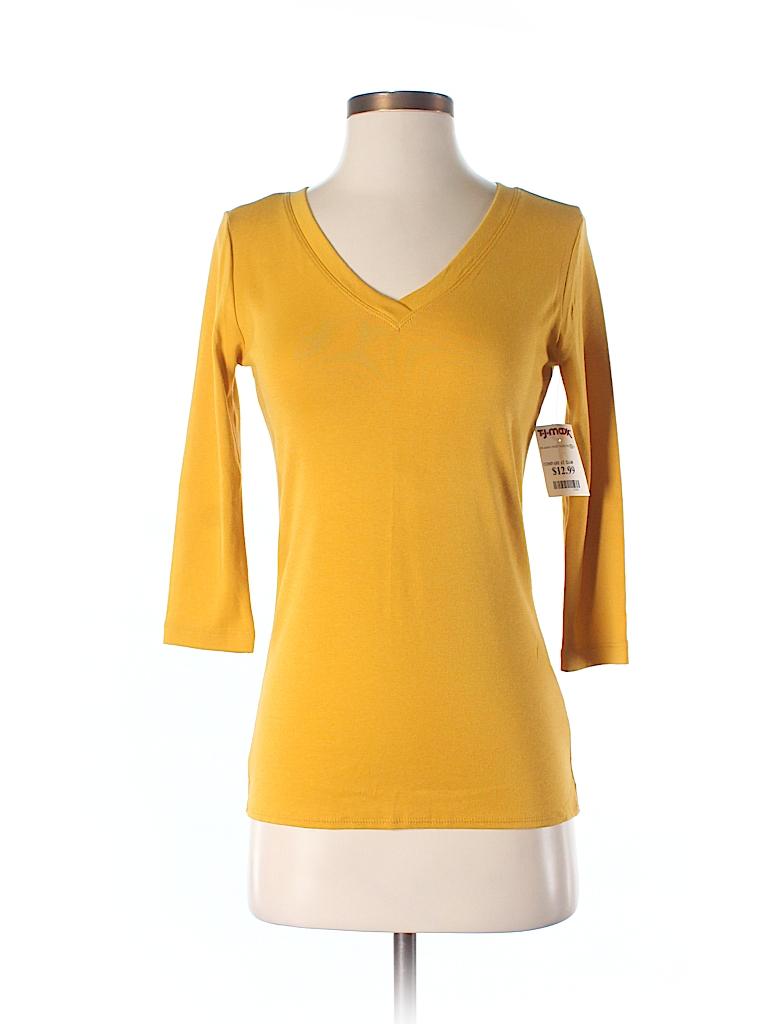 Cynthia rowley for t j maxx 3 4 sleeve t shirt 53 off for Tj maxx t shirts