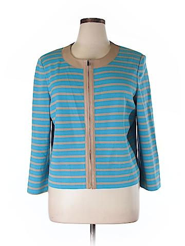 St. John Collection Wool Cardigan Size XL