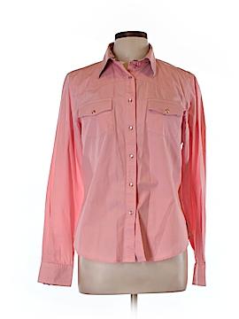 Rockies Long Sleeve Button-Down Shirt Size L