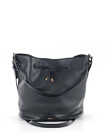 Lauren by Ralph Lauren Leather Bucket Bag One Size