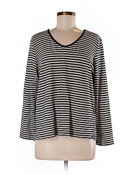 Liz Claiborne Long Sleeve T-Shirt Size M (Petite)