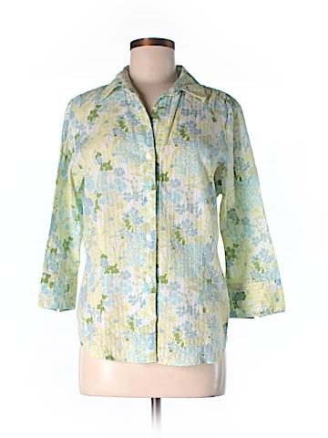 Eddie Bauer Long Sleeve Button-Down Shirt Size 7