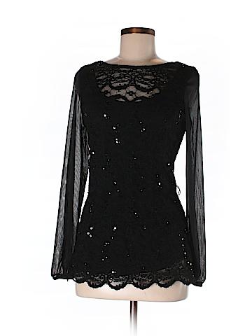 Onyx Women Long Sleeve Blouse Size M