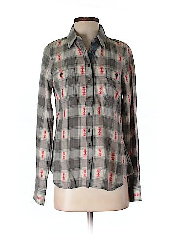 Aventura Long Sleeve Button-Down Shirt Size S