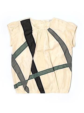 BA&SH Short Sleeve Silk Top Size 1