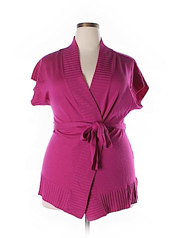 Jones New York Collection Wool Cardigan Size XL