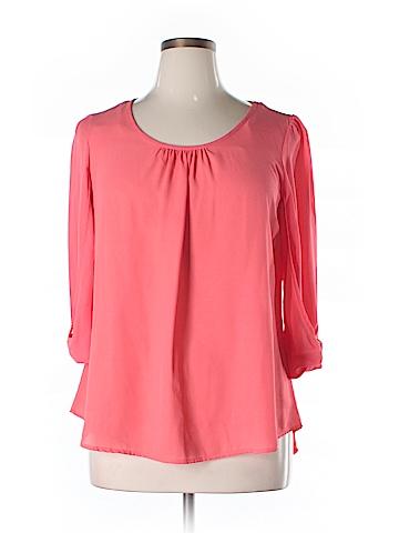 Moa Moa 3/4 Sleeve Blouse Size XL