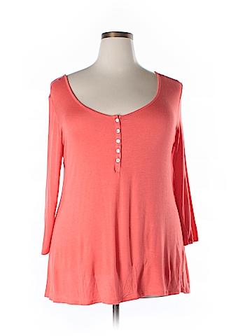 Arizona Jean Company 3/4 Sleeve Top Size XXL