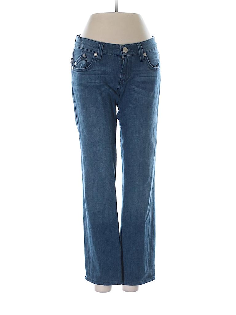 rock republic solid navy blue jeans 25 waist 96 off thredup. Black Bedroom Furniture Sets. Home Design Ideas
