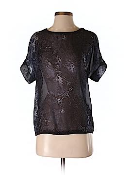 DANIER Short Sleeve Blouse Size XXS