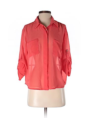 Honey Punch Women 3/4 Sleeve Blouse Size S