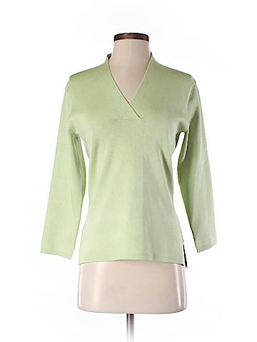 Cullen 3/4 Sleeve Silk Top Size M