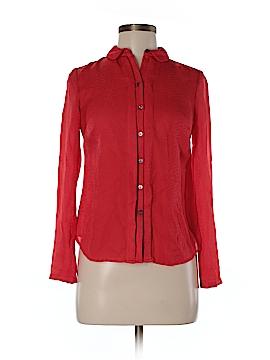 Ann Taylor Long Sleeve Blouse Size 2 (Petite)