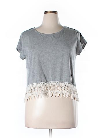 Rewind Short Sleeve Top Size XL