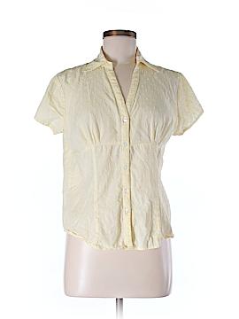 Bass Short Sleeve Button-Down Shirt Size M