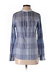 Lands' End Canvas Women Long Sleeve Button-Down Shirt Size XS