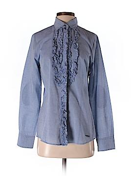 Marella Long Sleeve Button-Down Shirt Size 10