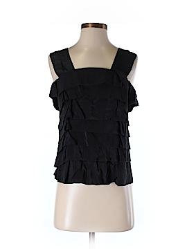Plains & Prints Sleeveless Blouse Size 2