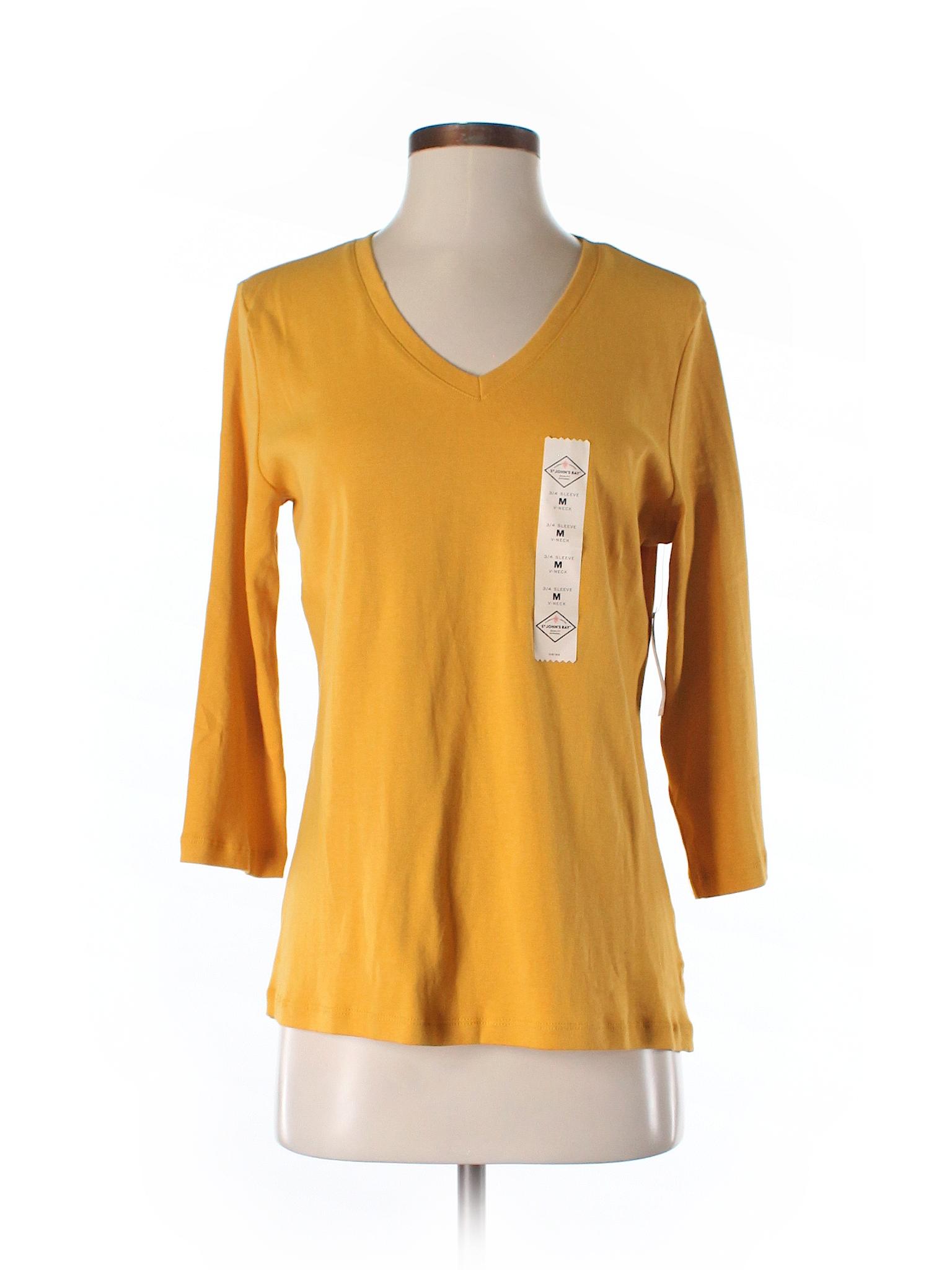 St John 39 S Bay 3 4 Sleeve T Shirt 43 Off Only On Thredup