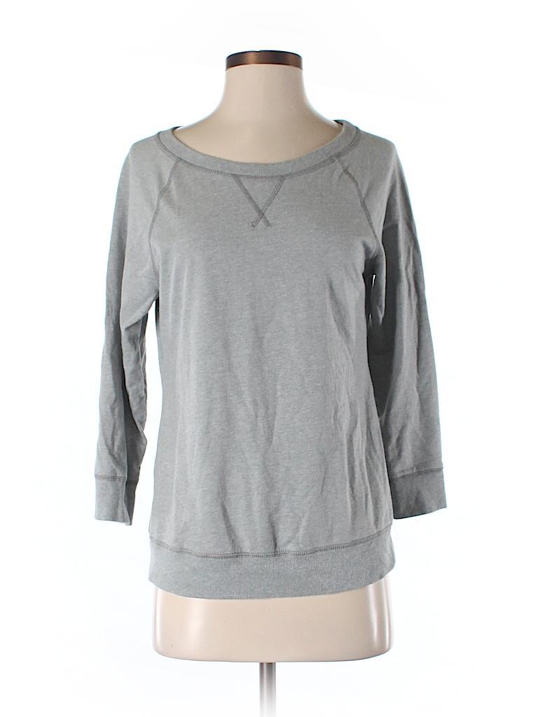 Old navy solid gray sweatshirt size s petite 88 off for Denim shirt women old navy