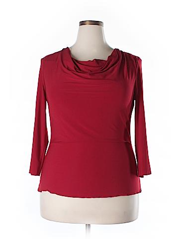 Jaclyn Smith 3/4 Sleeve Top Size XL
