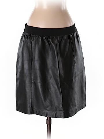 Ann Taylor LOFT Leather Skirt Size 6