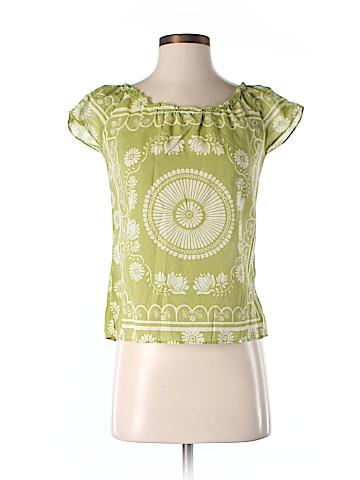 Lucky Brand Short Sleeve Blouse Size S