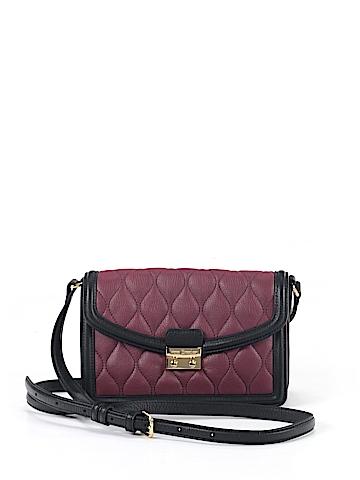 Vera Bradley Leather Crossbody Bag One Size