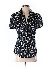 Ann Taylor LOFT Outlet Short Sleeve Button-Down Shirt Size 6