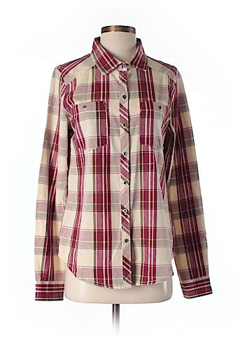 Roxy Long Sleeve Button-Down Shirt Size M