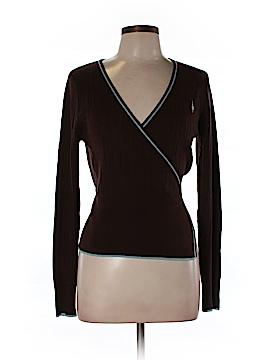 Rachelle Long Sleeve Silk Top Size L