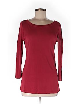 Charles Nolan 3/4 Sleeve Silk Top Size M