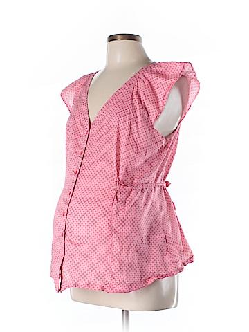 Old Navy - Maternity Short Sleeve Blouse Size L (Maternity)