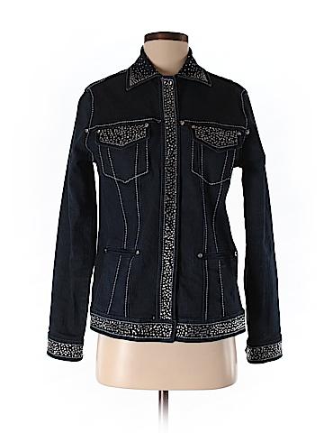 DG^2 by Diane Gilman Women Denim Jacket Size XS