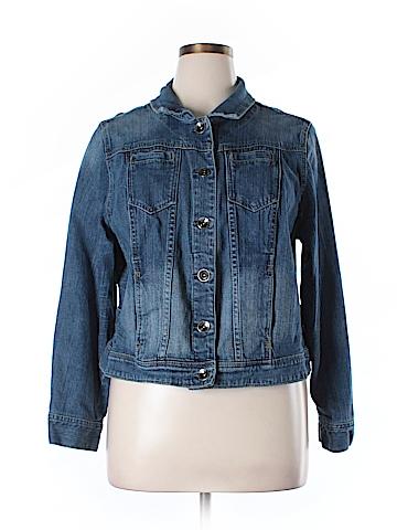 Lane Bryant Denim Jacket Size 20 (Plus)