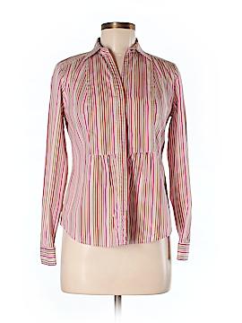 Liz Claiborne Collection Long Sleeve Button-Down Shirt Size S