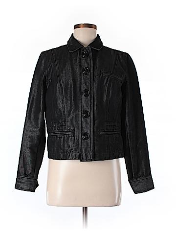 Chico's Denim Jacket Size 1 (Med)